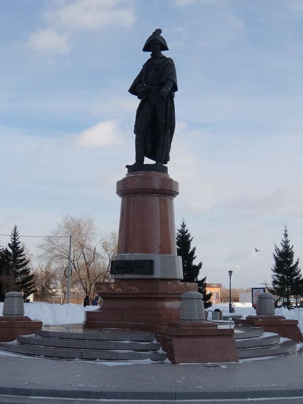 Красноярск - Памятник Николаю Резанову