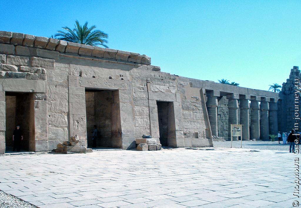 храм Карнак фото
