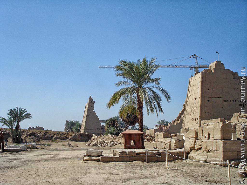 реставрация храма Карнак