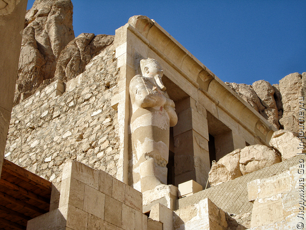 скульптура храм Хатшепсут