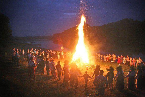 Огонь в представлении славян