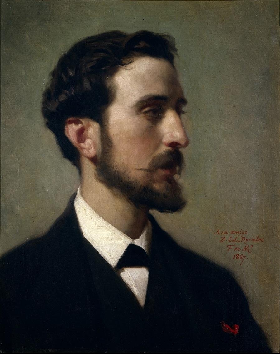 1867_Художник Эдуардо Росалес (El pintor Eduardo Rosales)_46.5 х 37_х.,м._Мадрид, музей Прадо.jpg