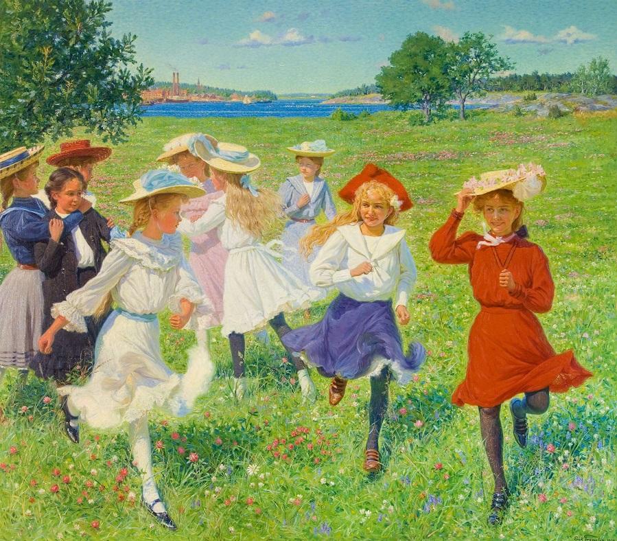 Eric Tryggelin (Swedish,1878-1962)