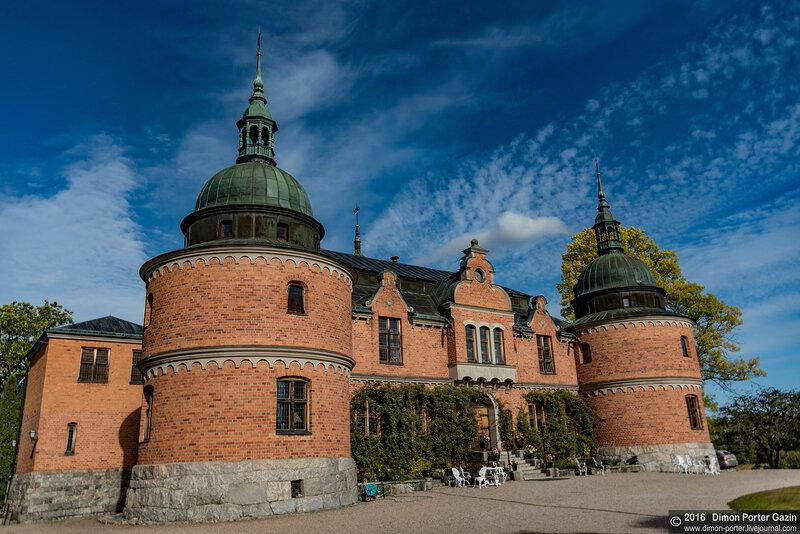 Швеция. Замок Рокельстад
