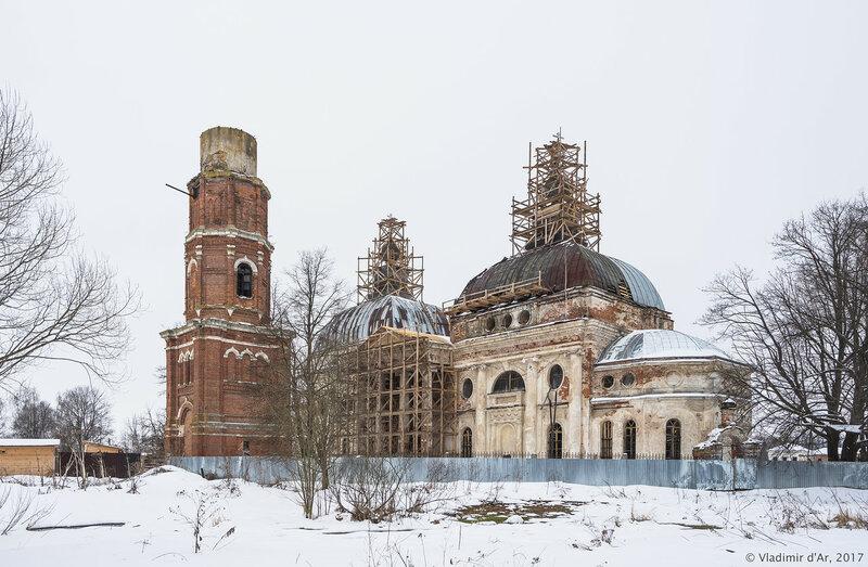 Храм Казанской Богоматери. Ярополец.