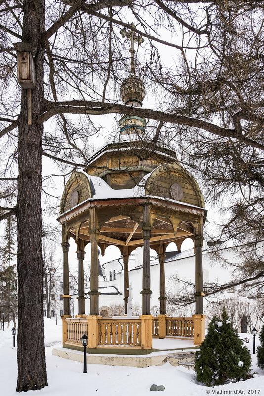 Часовня-сень. Иосифо-Волоцкий монастырь