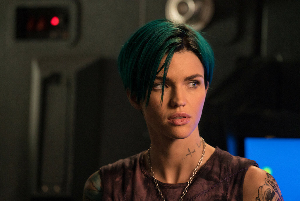 Ruby Rose as Adele Wolff in xXx: RETURN OF XANDER CAGE by Paramount Pictures and Revolution Studios