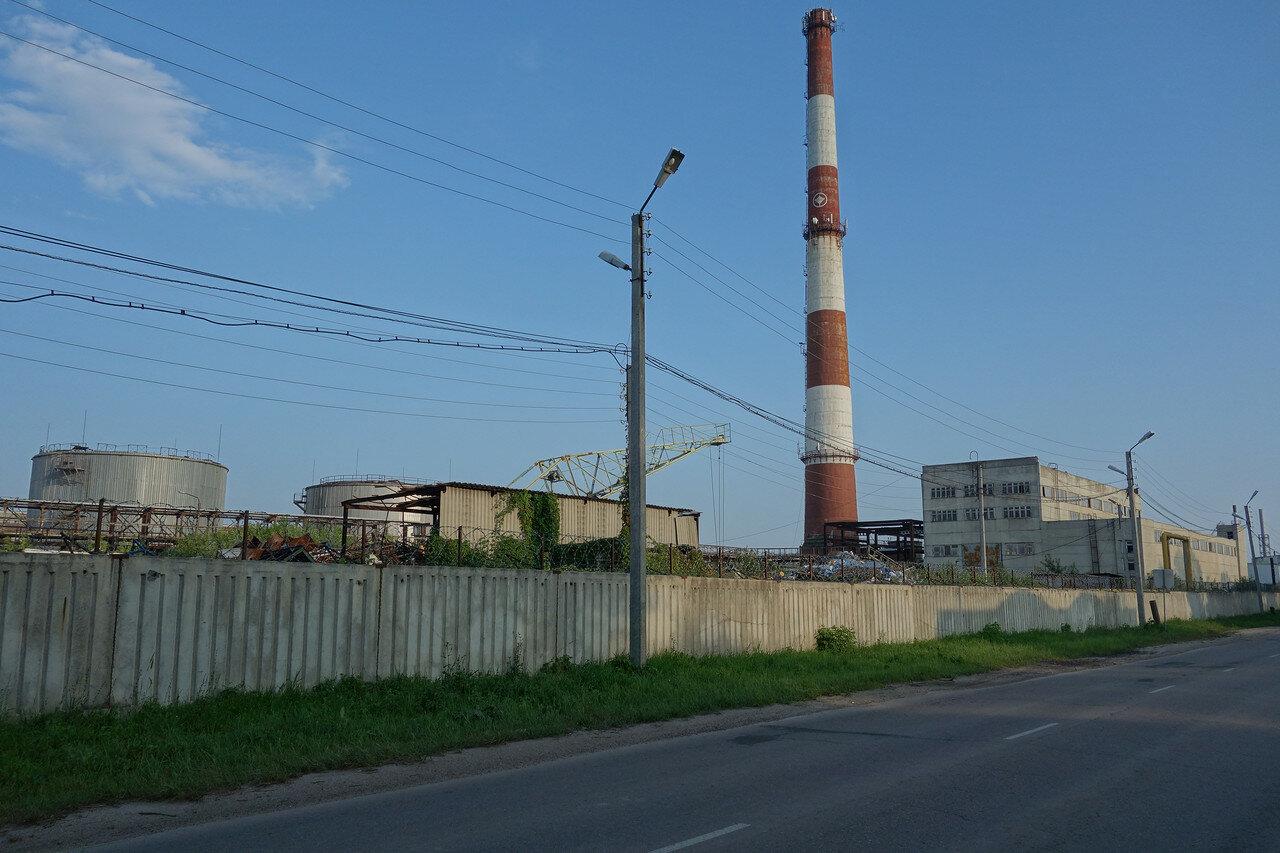 завод ПАЗ напоминает заброшку