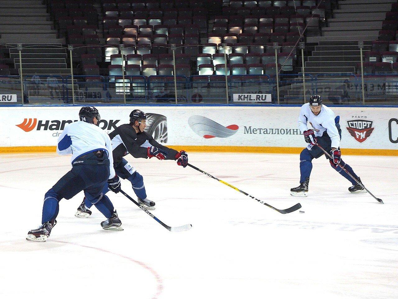 30 Открытая тренировка перед финалом плей-офф восточной конференции КХЛ 2017 22.03.2017