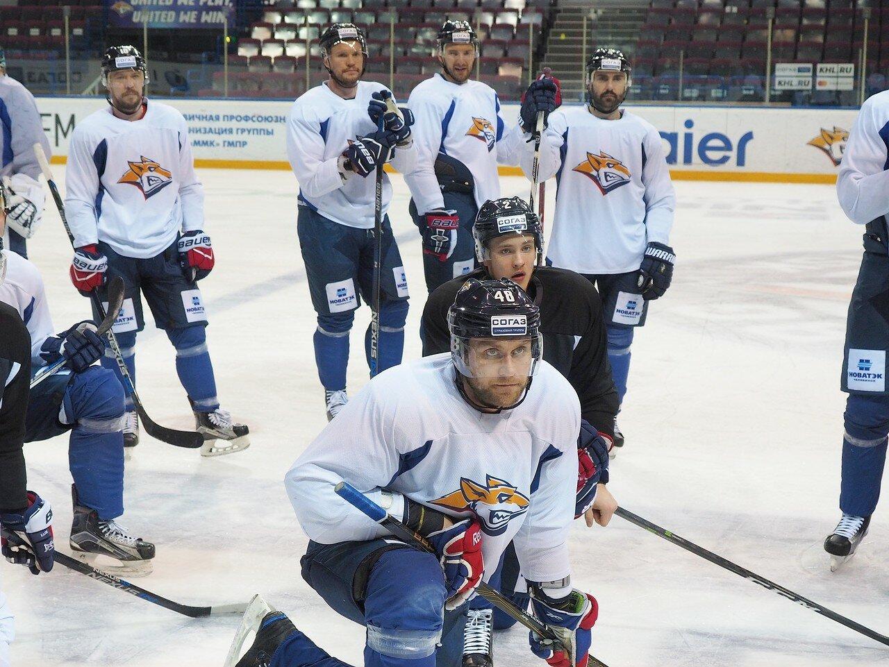 36 Открытая тренировка перед финалом плей-офф восточной конференции КХЛ 2017 22.03.2017