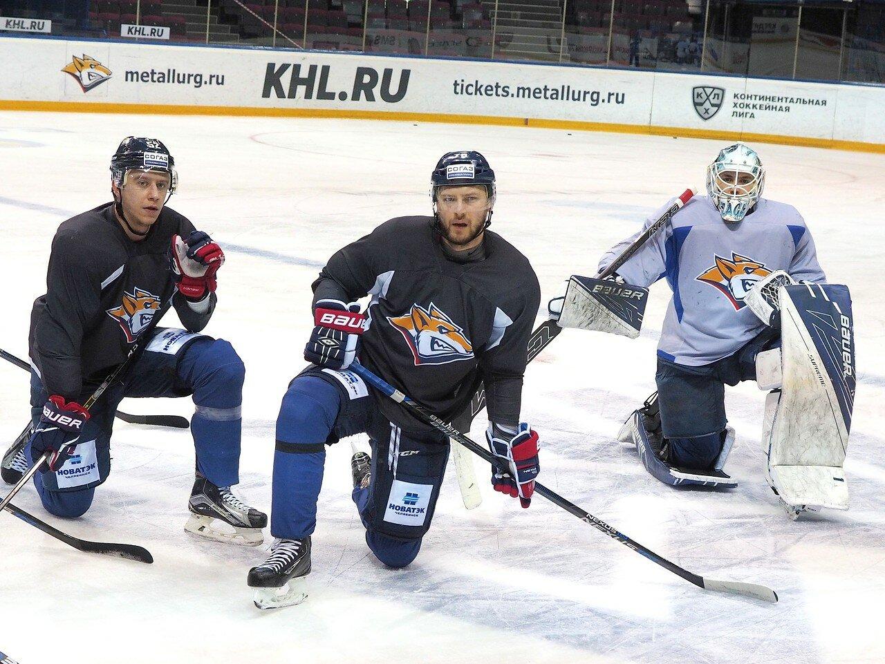 39 Открытая тренировка перед финалом плей-офф восточной конференции КХЛ 2017 22.03.2017