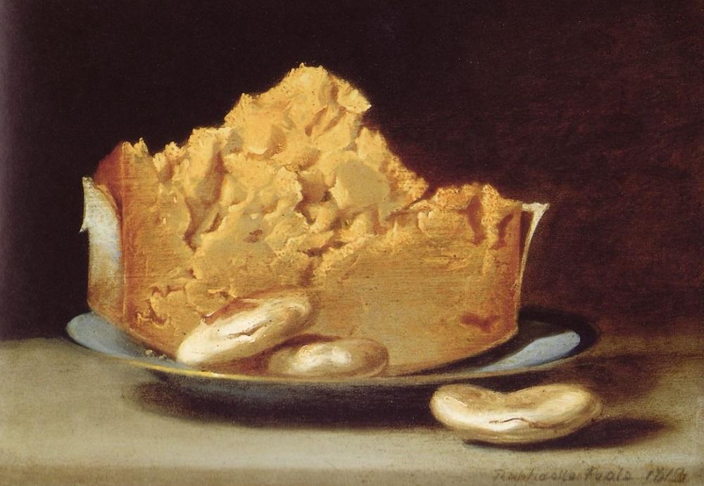 Рафаэль Пил. Сыр с тремя крекерами. 1813