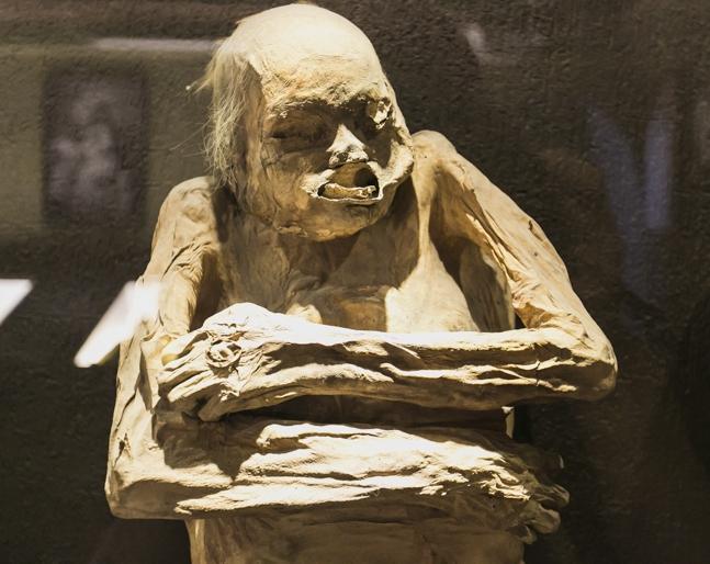 Музей мумий в Гуанохуато