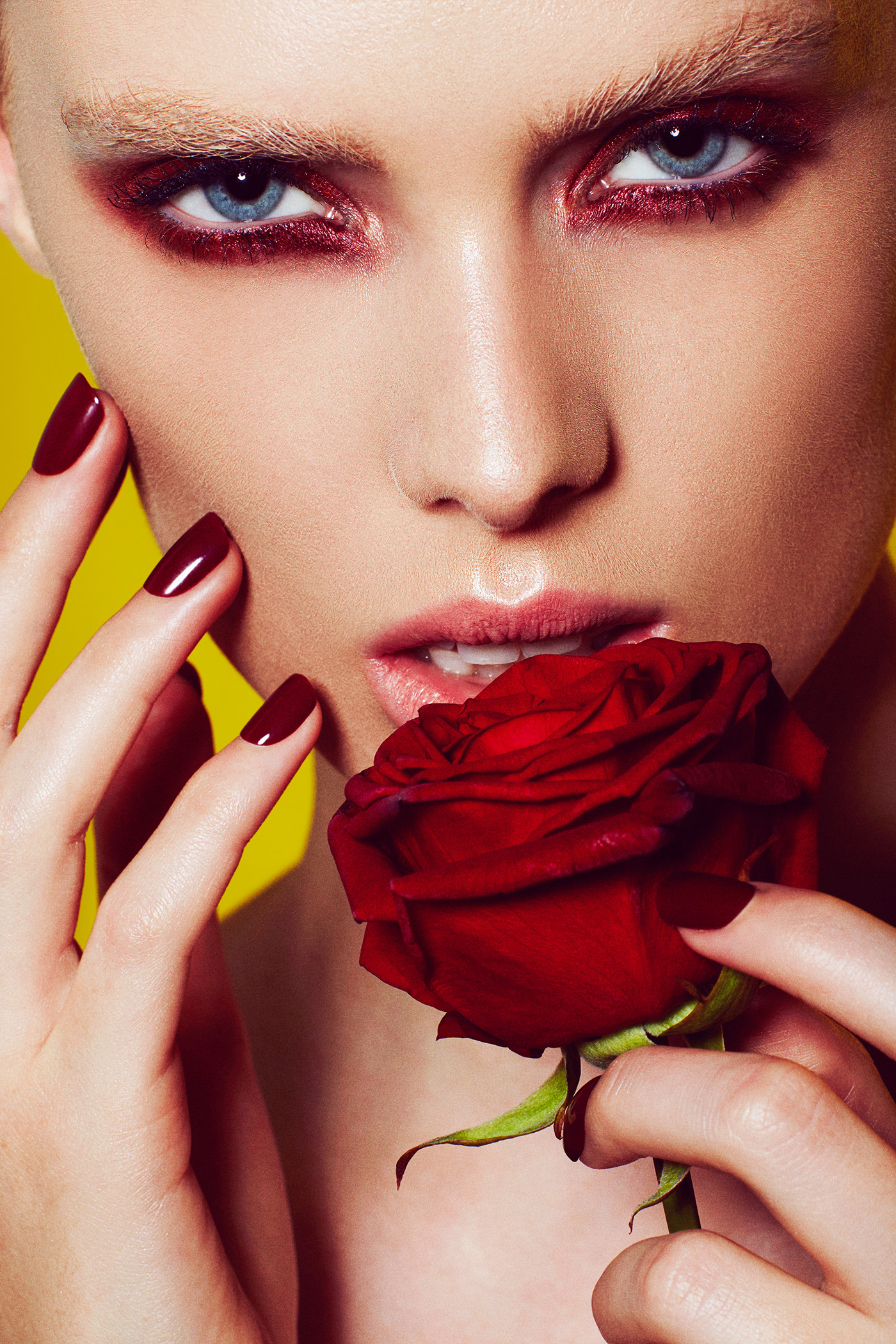 Красные розы красные губы / The Beauty Retoucher