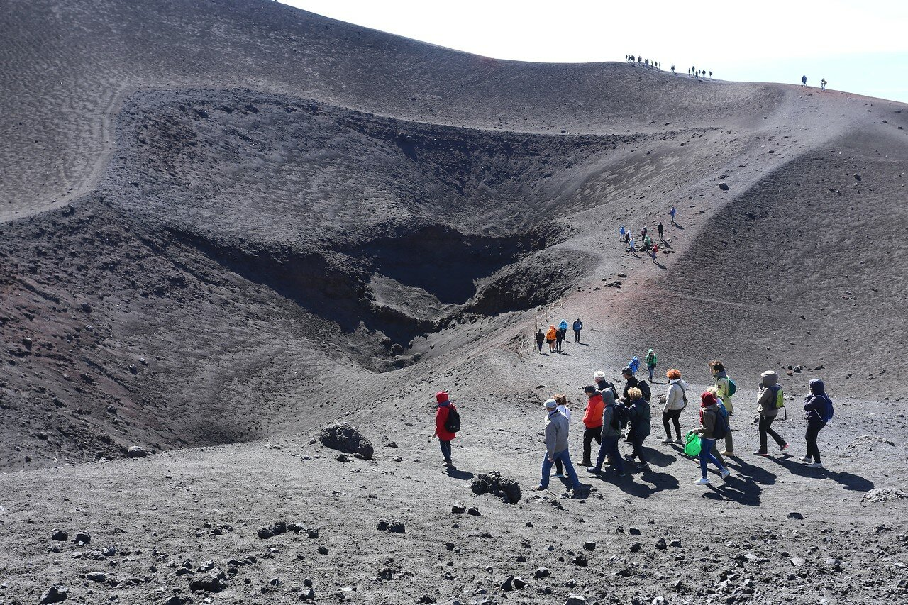 Etna. Barbagallo Craters
