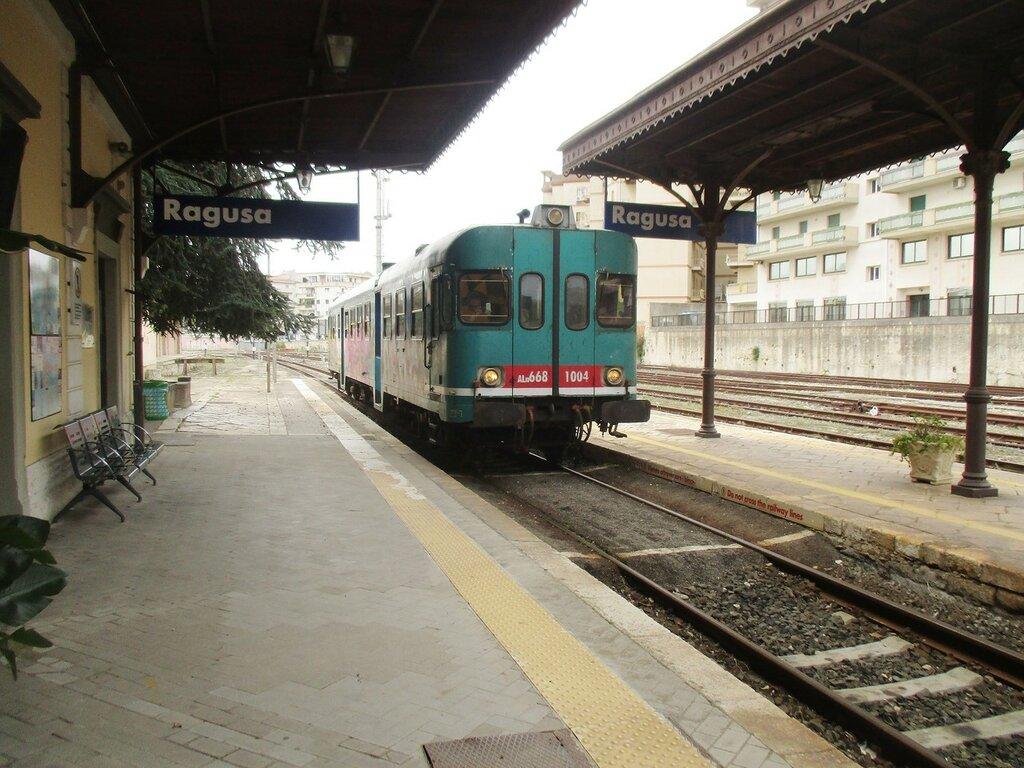 Ragusa. Railway station (Stazione ferroviaria di Ragusa)
