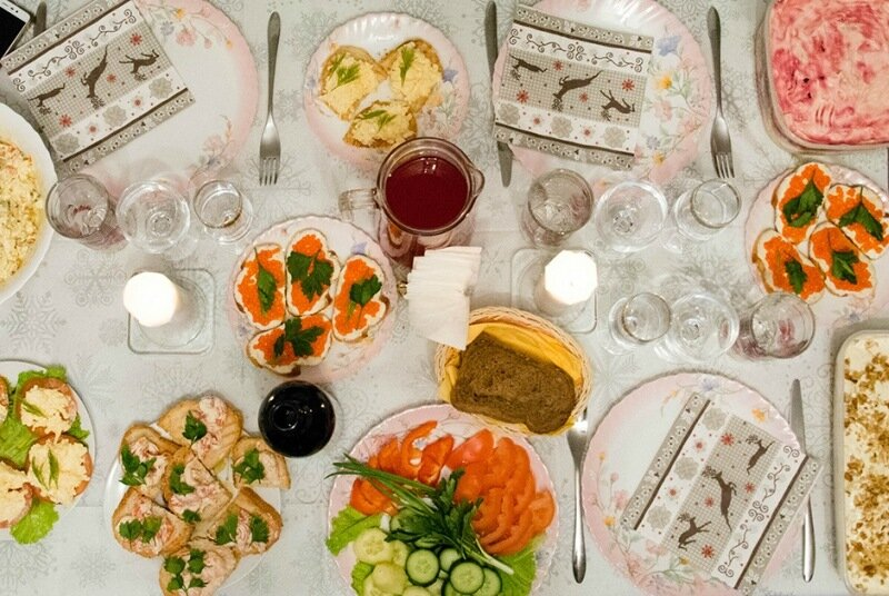 Проект «Оливье», или Чем россияне потчевали себя в Новый год