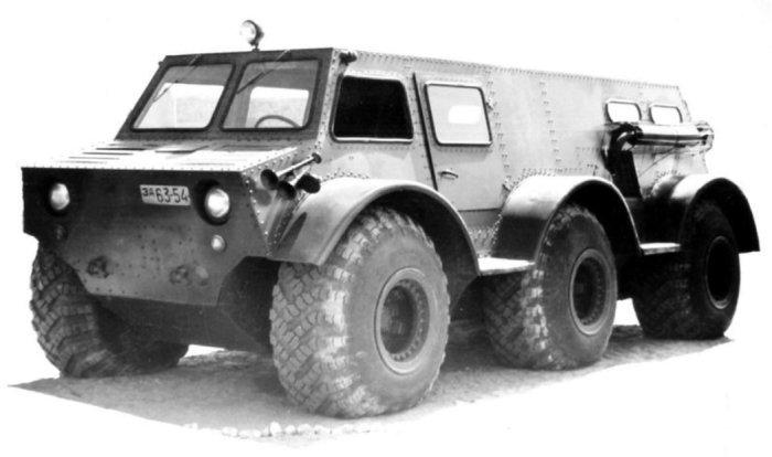 Экспериментальный ЗИЛ-136.