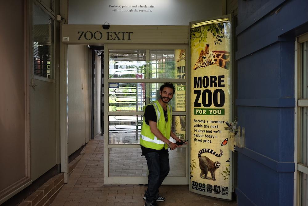 Пришло время повысить ставки. Следующая цель — зоопарк. «Никто из нас не верил, что нам это удастся,