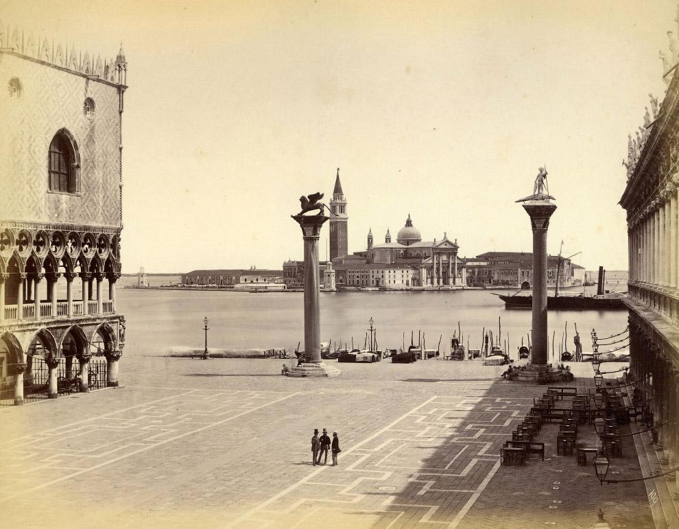 27. Рыбный рынок, 1870 год.