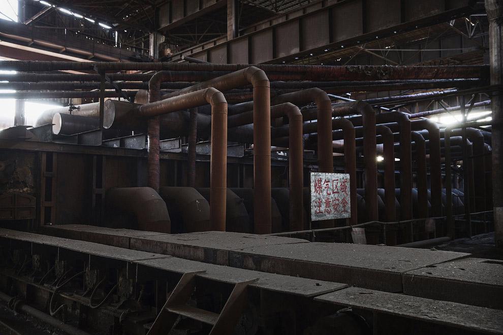 15. А мы двигаемся дальше и переходим к подпольным сталелитейным заводам в Китае. тут не менее