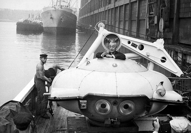 Гагарин на заводе Carlsberg, 1962 г