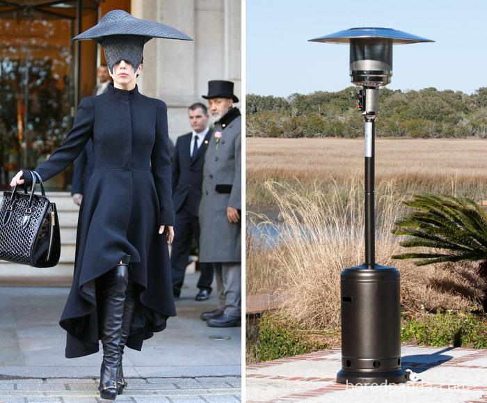 Леди Гага или тепловой зонтик?