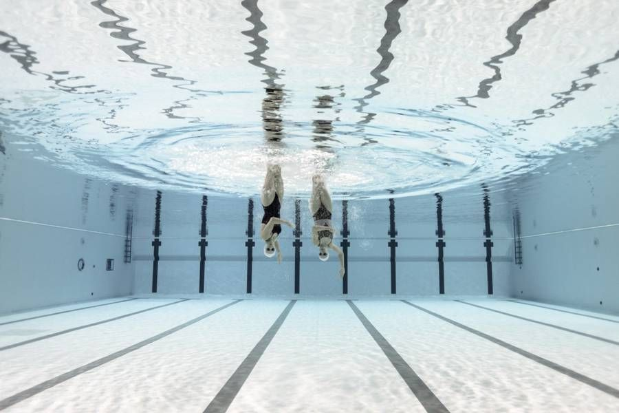 Синхронное плавание: красота, которая остаётся за кадром