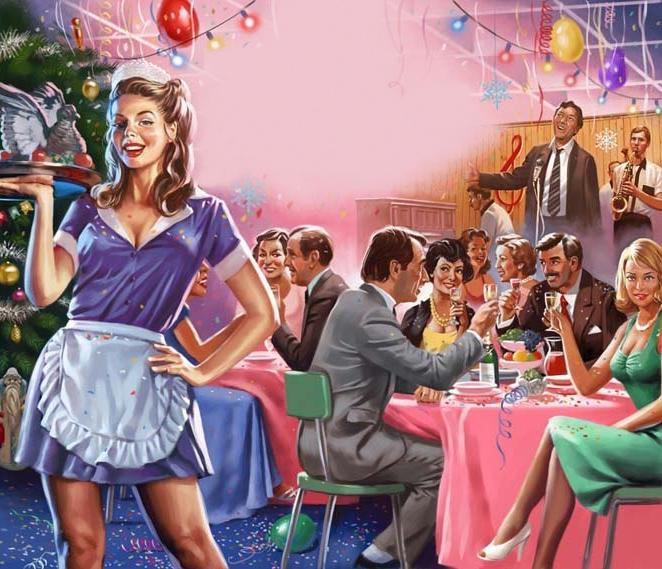 Новый год в «Плакучей иве».