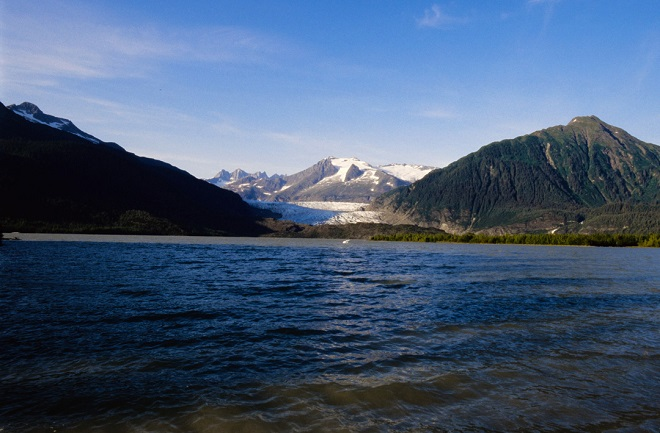 Ледник Кэрролл, Аляска — 1906 Эта длинная часть ледника залива Глейшер простирается на 25 километров