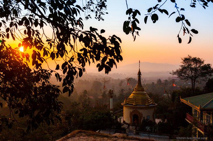 Прогулка по монастырям а Бирме (43 фото)