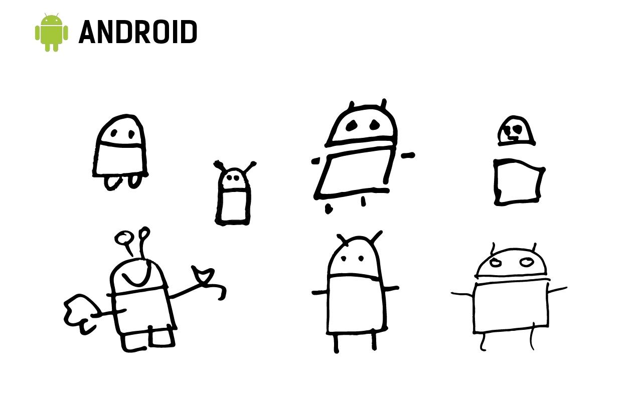 Общую форму помнят все, но никто не нарисовал характерные руки.