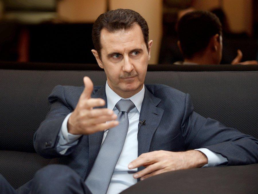 Берлин допустил участие Асада впереходном периоде