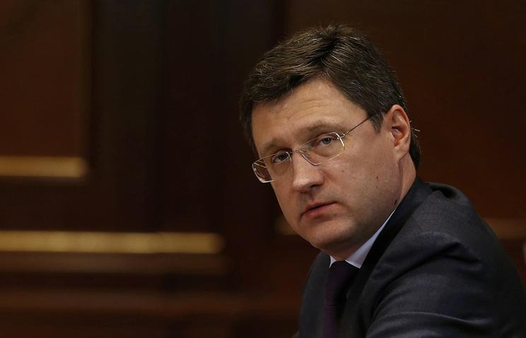 Министр Новак поведал оценах нанефть в текущем году