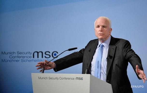 Маккейн спрогнозировал обострение наДонбассе