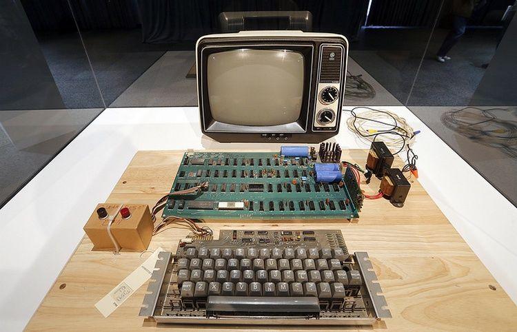1-ый «дьявольский» компьютер Apple ушел смолотка за110 тыс. евро