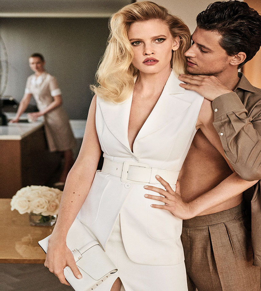 Lara Stone, Garrett Neff - Vogue Mexico / Latin America (May 2017)