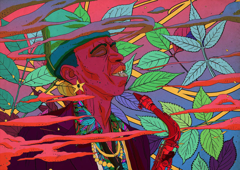 Vibrant Illustrations by Olivier Bonhomme