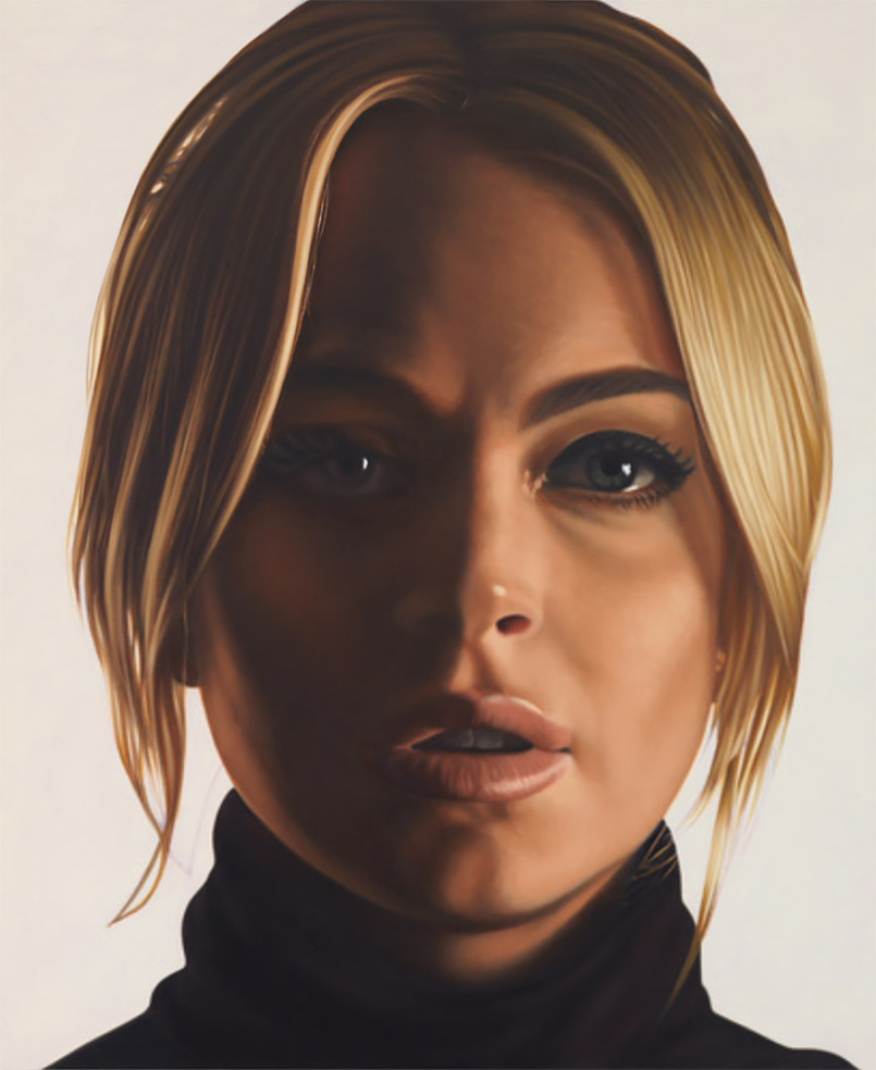 New Large Scale Artworks by Richard Phillips