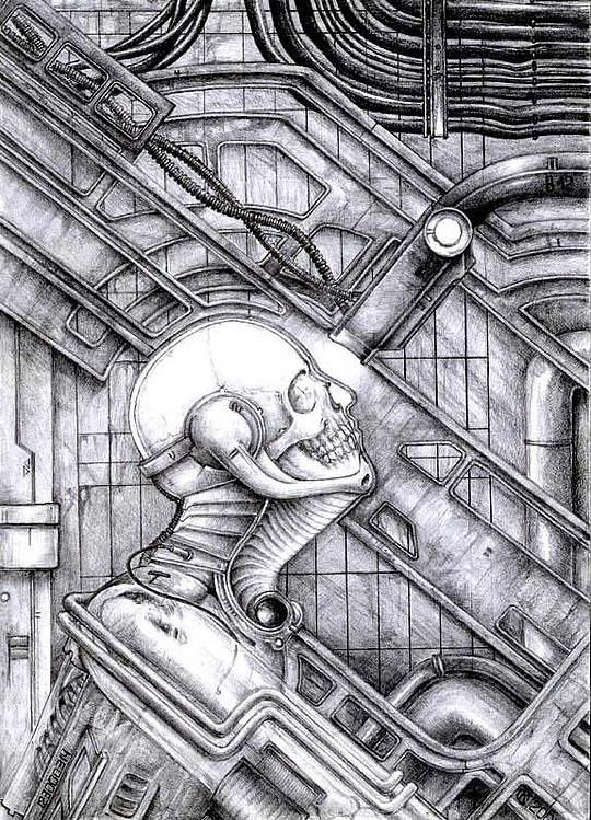 Creepy Drawings by Kirill Semenov (21 pics)