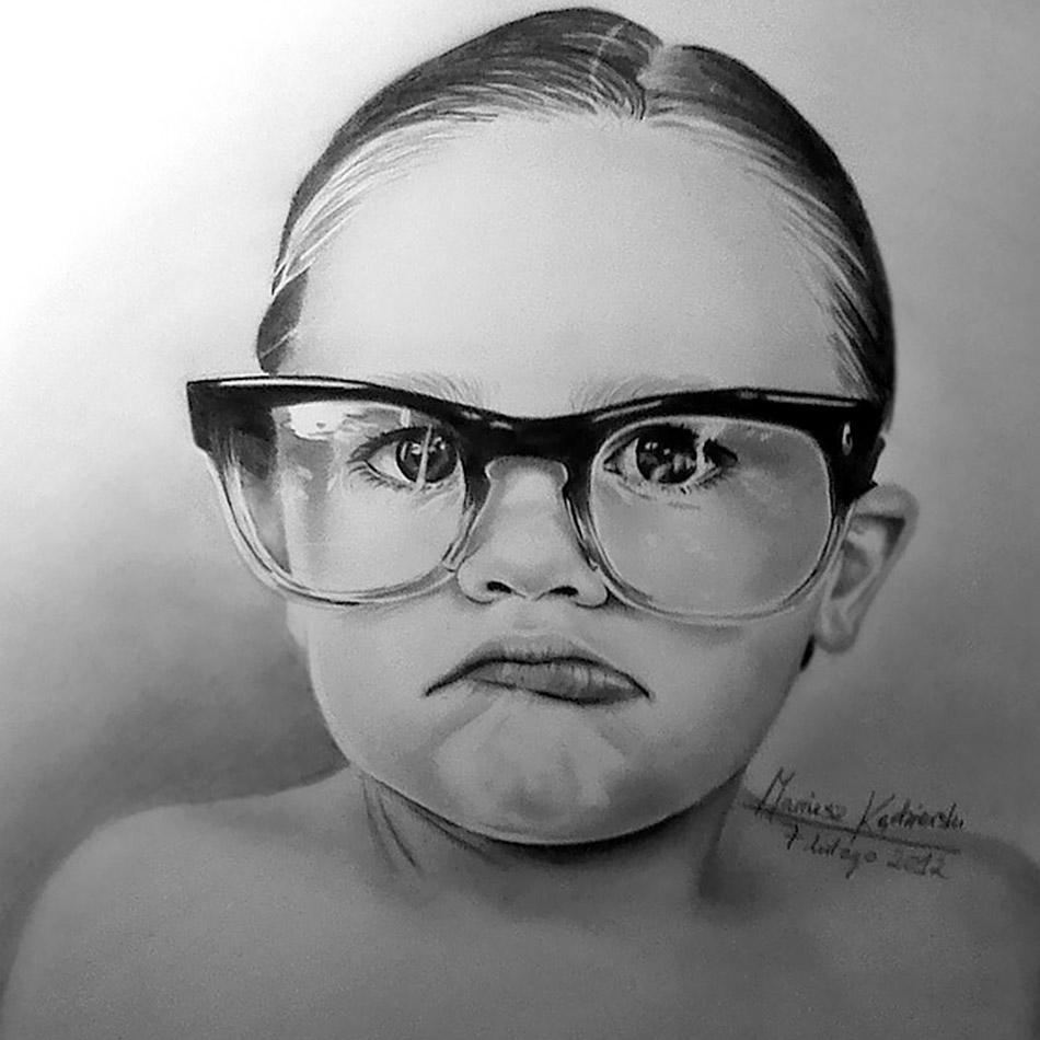 Mariusz Kedzierski nasceu sem os bracos e ainda assim cria ilustracoes incriveis