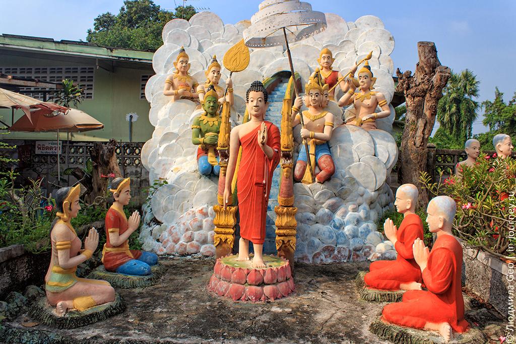 храм ада и рая в паттайе фото