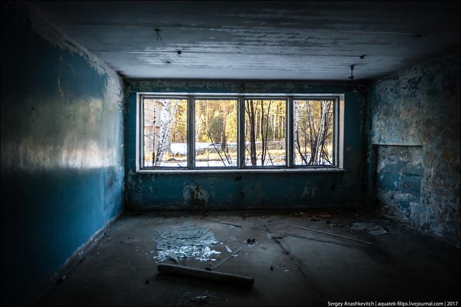 Заброшенный санаторий