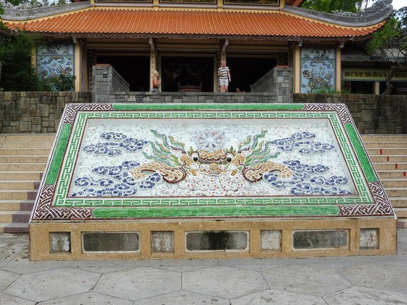 Мозаика пагоды Лонг Шон