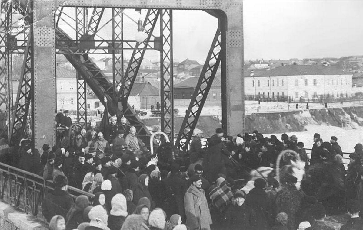 Испытания моста (1905)
