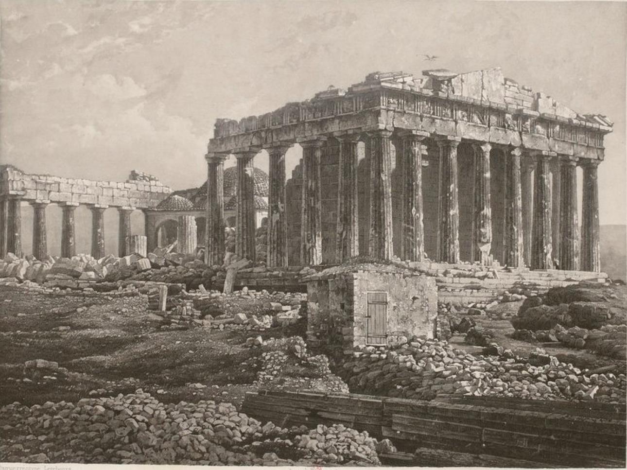Греция. Афины. Акрополь. Парфенон