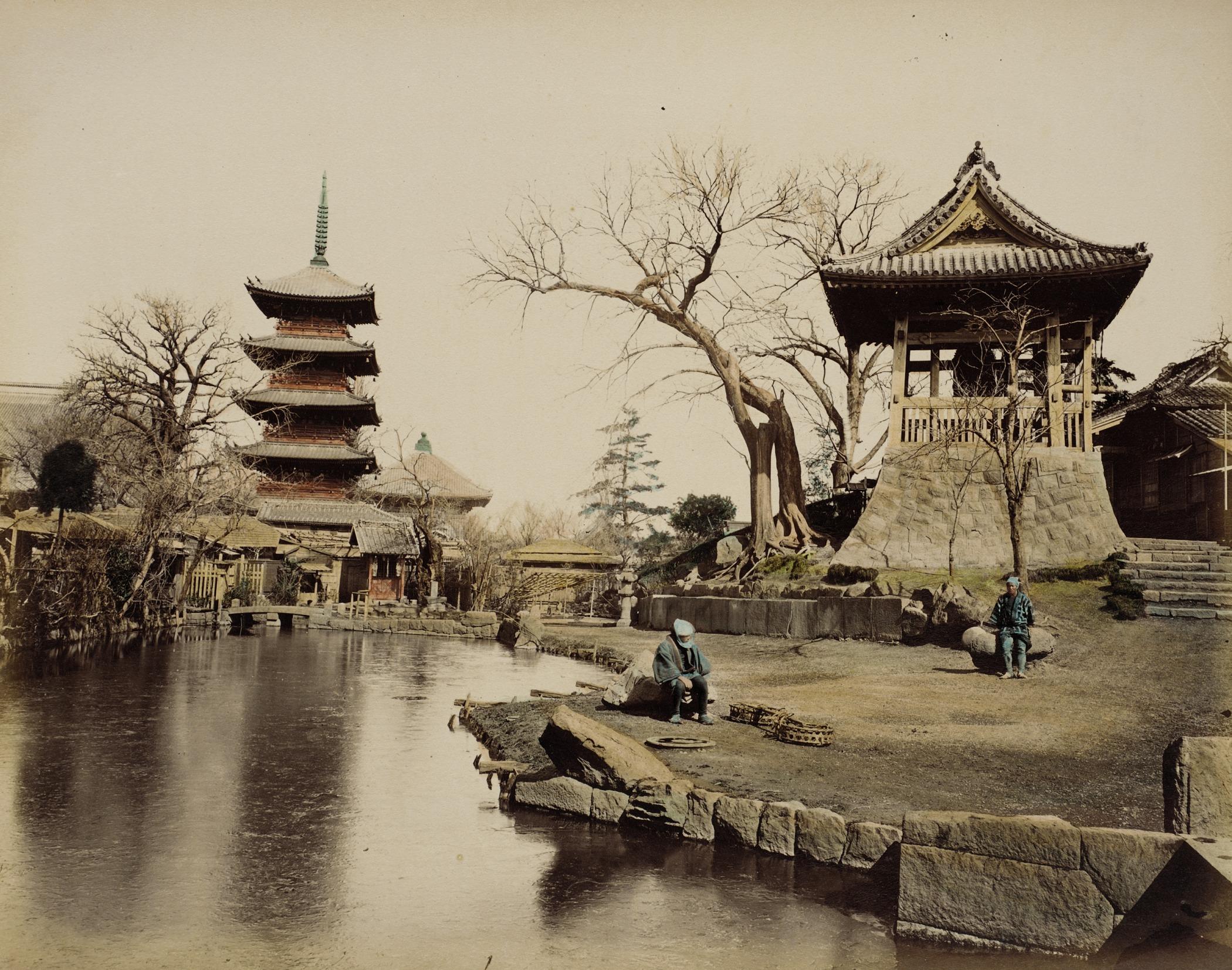Буддистский храм. 1865