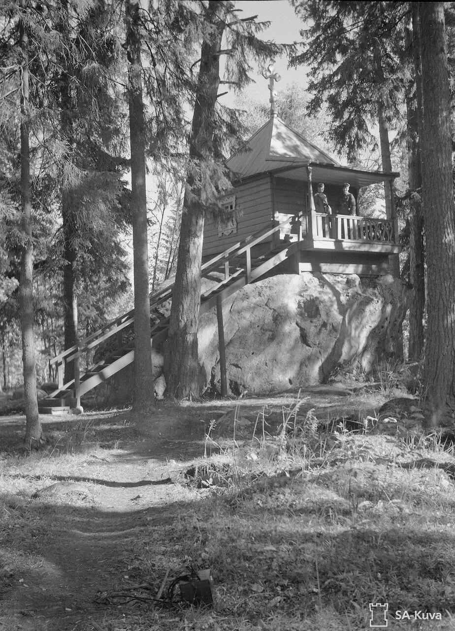 1941. Часовня Арсения Коневского на Коневце