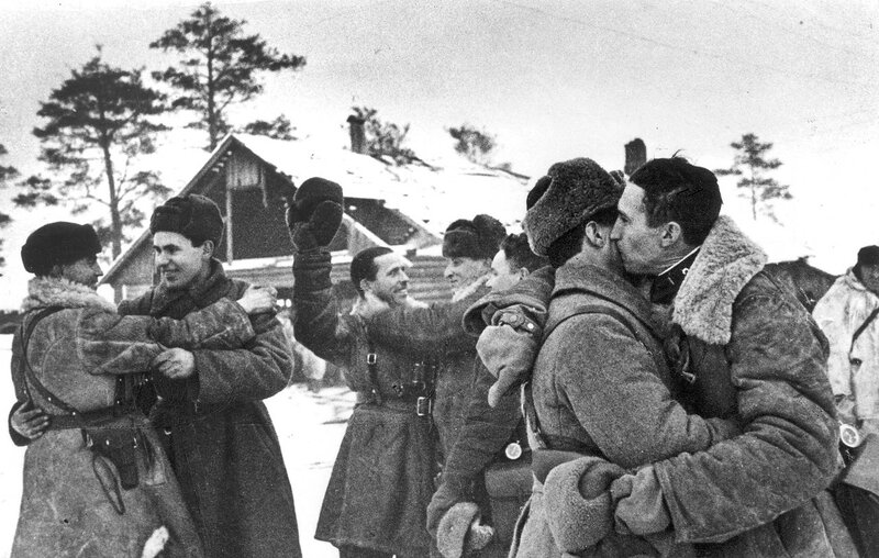 Блокада Ленинграда прорвана