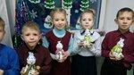 2В класс (рук. Матыгулина Татьяна Владимировна) - Весёлый снеговик